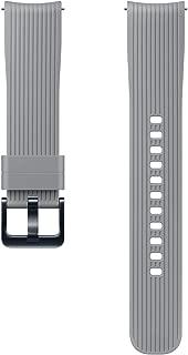 Samsung Galaxy Watch Silikon Kayış, 42 mm, Titanyum Gri