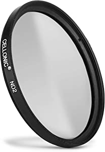 CELLONIC   Neutral-density Filter ND2 compatible with Nikon Nikkor 72m...
