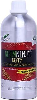NeemTree Neem Ninja - 1 Liter - All Natural Neem | Organic Farming Neem and Karanja For Indoor and Outdoor Plants - 100 Pe...