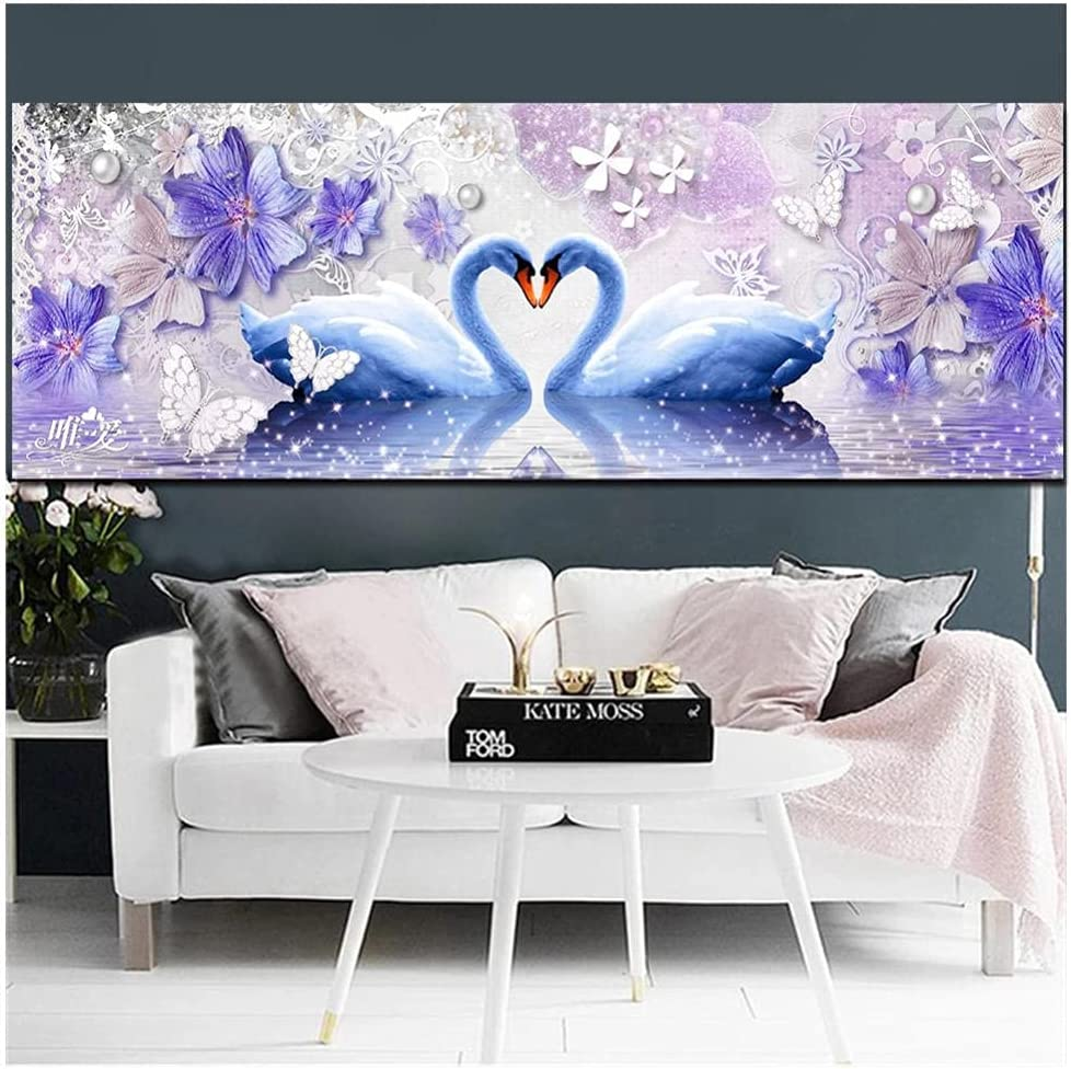 DIY 5D Choice Diamond Painting by Number Drill Full Kits P Swan Sale SALE% OFF