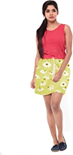 EASY 2 WEAR ® Women Floral Shorts (XS to 4XL) - Elastic and Drawstring - Loose and Long