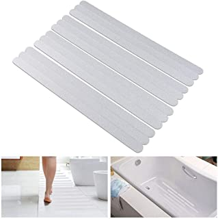 LSZGan Anti-slip Strips, Safety Shower Treads Stickers - 24 Pics, Bathtub Non Slip Stickers, Anti Skid Tape for Shower,Tu...