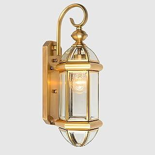 MX Light Fixture Wall Lamp European Outdoor Waterproof Glass Lamp 1 Lamp