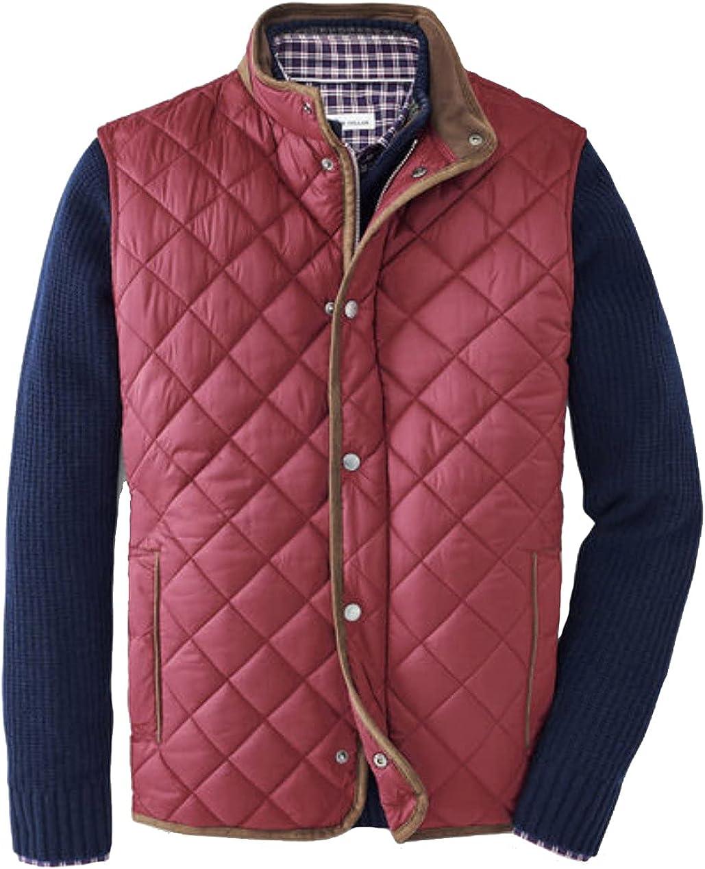Peter Millar Men's Essex Max Max 48% OFF 40% OFF Vest Travel Quilted XXL