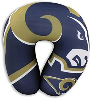 Multi Color Officially Licensed NFL Travel Neck Pillow One Size
