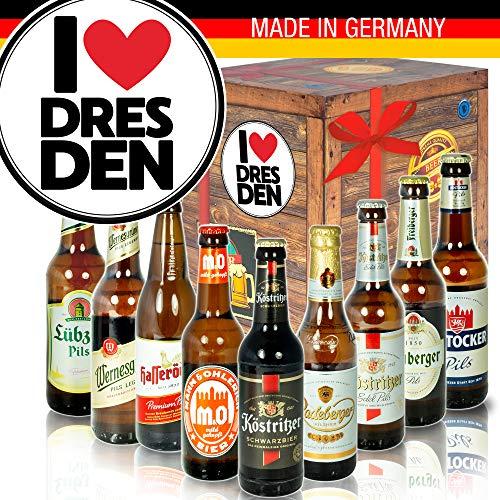 I love Dresden/DDR Produkte Bier/Dresden Geschenkidee