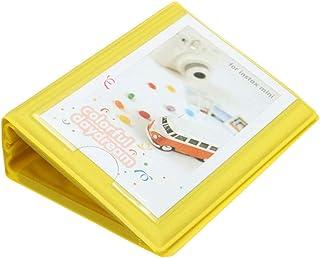 3 pulgadas 6 colores colorido lindo Mini 28 + 1 bolsillos de almacenamiento caso Álbum de Fotos para Polaroid Fujifilm Instax película para la Gran regalo caliente Verde Amarillo