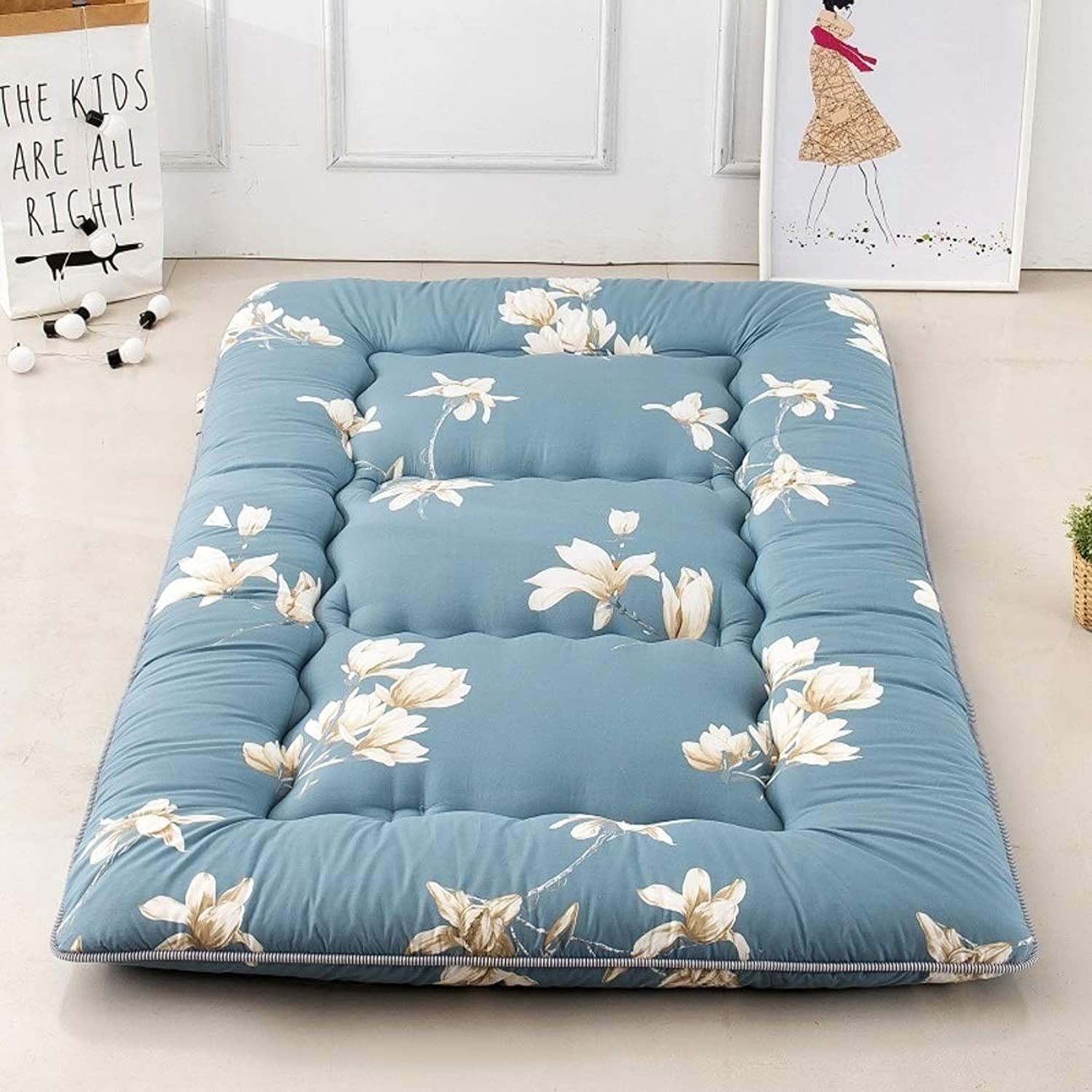 Mattress Thicken Foldable Tatami Tatami mat, Folding Mattress Floor Lounger Cover Mattress Floor Tatami Mattress (color   C, Size   180x220cm)