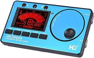 Youtaimei Producto satisfactorio Sintonizador Digital electrónico 3 en 1 Metrónomo Generador de Tono Micrófono Incorporado Pantalla
