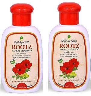 Rajah Ayurveda Rootz Herbal Shampoo - 100ml (Pack of 2)