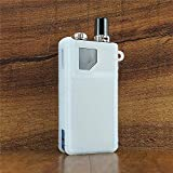 ModShield for Lost Vape Orion Q & GO DNA 40W Silicone Case ByJojo Protective Cover Sleeve Shield Wrap Skin (Clear Opaque)