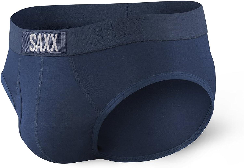 SAXX Underwear Men's Briefs – ULTRA Men's Underwear – Briefs for Men with Built-In BallPark Pouch Support, Core