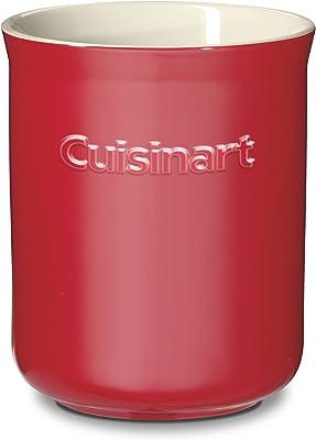 Cuisinart ctg-00-ccrrcセラミックCrock、赤とクリーム