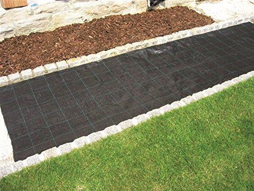 ecoSoul 15 m² Fond Tissu en 1,5 m Largeur x 10 m Terram 100 g/m² Produit de qualité Allemande