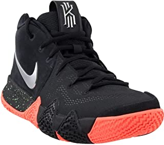 fd56fecd9461 Nike Mens Kyrie 4 Basketball Shoe Black Metallic Silver (10)