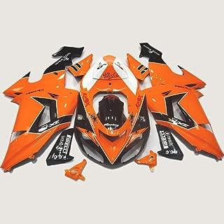 ABS Injection Molding - Specially Designed Orange Fairing Kit for Kawasaki Ninja ZX10R 2006 2007