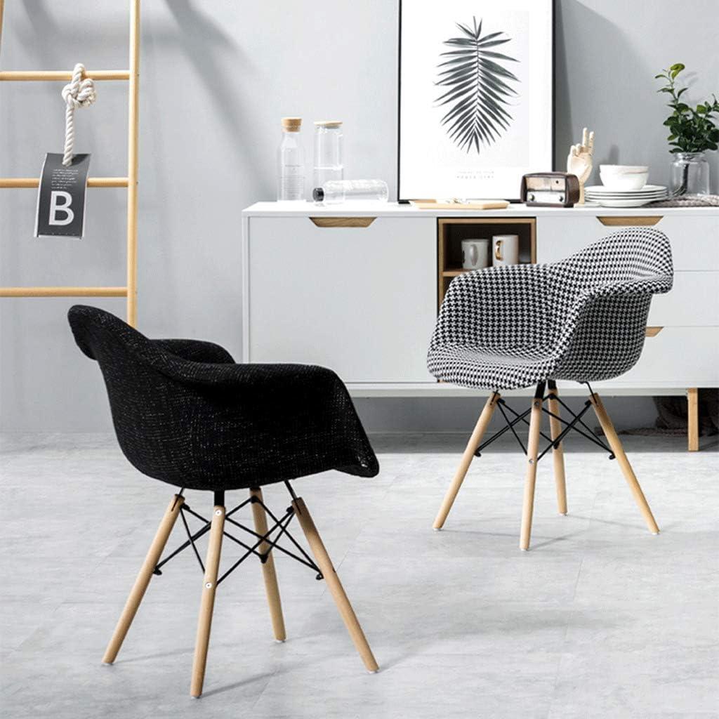 Jokeagliey Chaise De Café Simple Moderne Décontractée, Chaise De Chambre, Chaise De Salle À Manger, Chaise De Salon, Chaise De Bureau, Chaise D'ordinateur,Blue Black