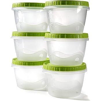 Envases comida tapers hermetico potes congelar sopa bebé ...