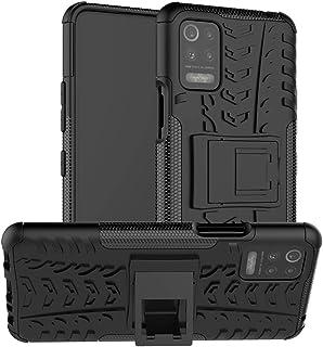 Capa para LG K52 5G, UZER à prova de choque, híbrida, camada dupla, de borracha robusta, híbrida, rígida e macia, proteção...