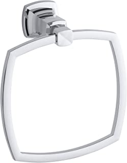 KOHLER K-16254-CP Margaux Towel Ring, Polished Chrome