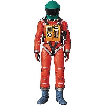 MAFEX マフェックス No.110 SPACE SUIT GREEN HELMET & ORANGE SUIT Ver. 全高約160mm 塗装済み アクションフィギュア