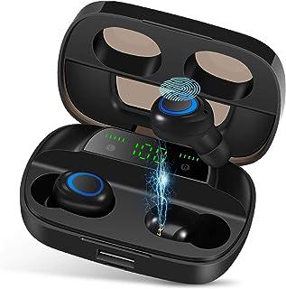 Wireless Earbuds, NEEKFOX IPX7 Waterproof Bluetooth 5.0 Headphones, Deep Bass Stereo Earphones Sports in-Ear Headset 120 H...