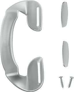 Spares2go Door Handle For Grundig Fridge Freezer (190Mm, Silver)