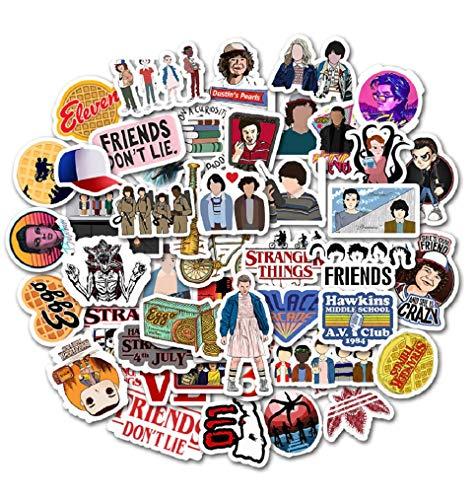 Top Stickers ! Juego de 50 Pegatinas Pequeñas de Stranger T