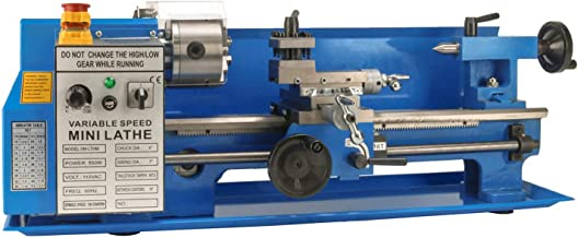 Erie Tools 7 x 14 Precision Bench Top Mini Metal Milling Lathe Variable Speed 2500 RPM..