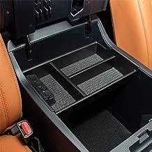 JOYTUTUS Fits Toyota Tundra 2007 to 2019 Center Console Organizer Tray