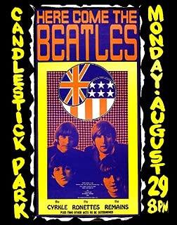 The Beatles Candlestick Park Poster Replica 14 X 11