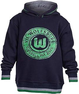 VfL Wolfsburg Hoodie KIDS Joker großer Brust Druck Farbe: Navy Größe 116 - 164 116