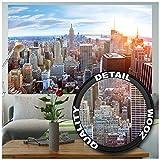 GREAT ART XXL Poster – New York City Skyline – Wandbild