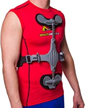 Thoracic Extension Spine Brace for Hyperextension Support, Osteoporosis, Kyphosis & Compression Fractures - Prevents unwanted Spine Flexion (One Size)