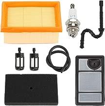 Hayskill TS400 Air Filter w Fuel Line Spark Plug for STIHL TS400 Cut Off Saw Parts Replace 4223 007 1010 4223 140 1800
