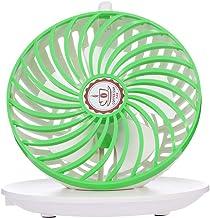 Nishore Usb ventilador do copo de café mini ventilador de suspensão verão legal fan office/uso doméstico (verde)