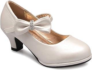 حذاء بكعب عالٍ للفتيات بتصميم القوس ماري جين من Olivia K (طفل صغير/فتاة صغيرة)