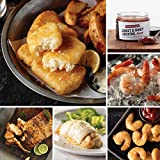 Seafood Favorites Assortment from Omaha Steaks (Pub-Style Cod, Marinated Salmon Fillets, Stuffed Sole with Scallops and Crabmeat, Redhook Amber Beer-Battered Shrimp, Jumbo Cooked Shrimp, and more)