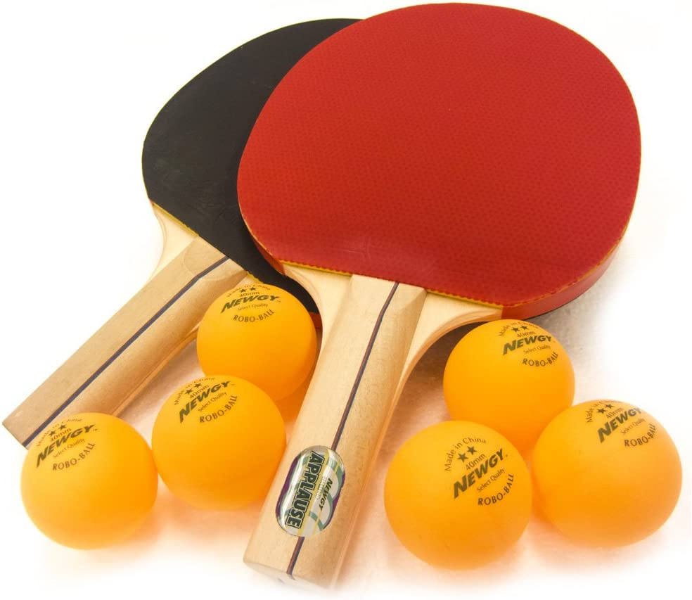 Newgy Ping-Pong Paddles Set 2 Limited time sale of Discount is also underway