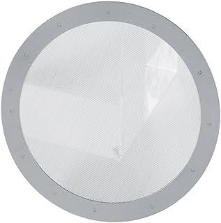 Asixx Herbruikbare, Disc Koffie Filters, Effen Ultra Fijn Roestvrij Herbruikbare Metalen Staal Koffie Filter Gaas Niet gif...