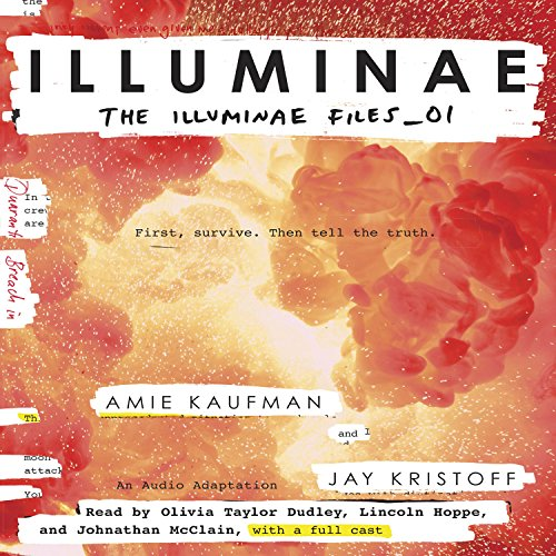 Illuminae audiobook cover art