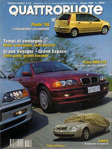 Quattroruote 512 giugno 1998 Prova BMW 318 - Alfa Romeo 156 1.8i 16V