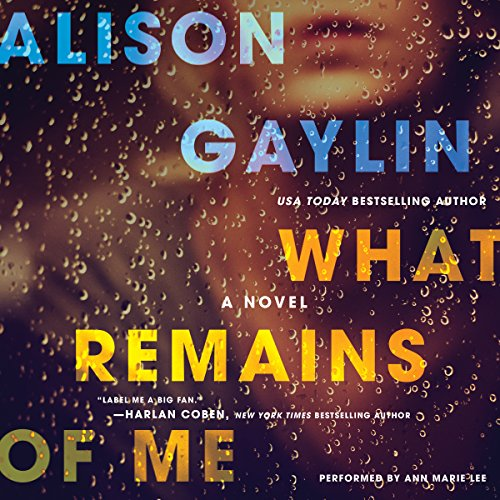 What Remains of Me audiobook cover art