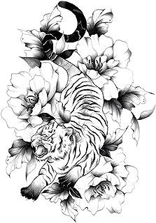 Tijdelijke Tatoeages 3 Vellen Waterdichte Tijdelijke Schetsen Bloemen Tattoo Stickers Flash Nep Lichaam Tatoeages Voor Vro...