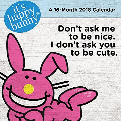 It's Happy Bunny 2018 Mini Calendar