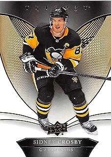 2018-19 Upper Deck Trilogy #35 Sidney Crosby Pittsburgh Penguins NHL Hockey Trading Card