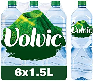 Volvic Natural Mineral Water, 1.5 L Promo (Pack of 6)