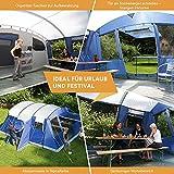 Zoom IMG-1 skandika milano 6 persone tenda