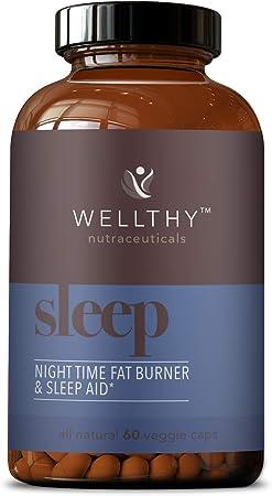 Wellthy Sleep All Natural Night Time Fat Burner & Sleep Aid