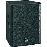 HK Audio PR:O 15 A 600W Negro Altavoz - Altavoces (1.0 Canales, 600 W, 55-19000 Hz, 4 Ω, Negro)